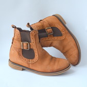 Ботинки,челси Next кожа (32 размер)