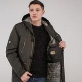 Мужская демисезонная куртка - парка 44, 46, 48, 50, 52