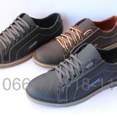 Мужские туфли, натуральна кожа, цвета