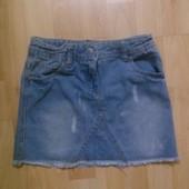 Джинсовая юбка 6-7 лет