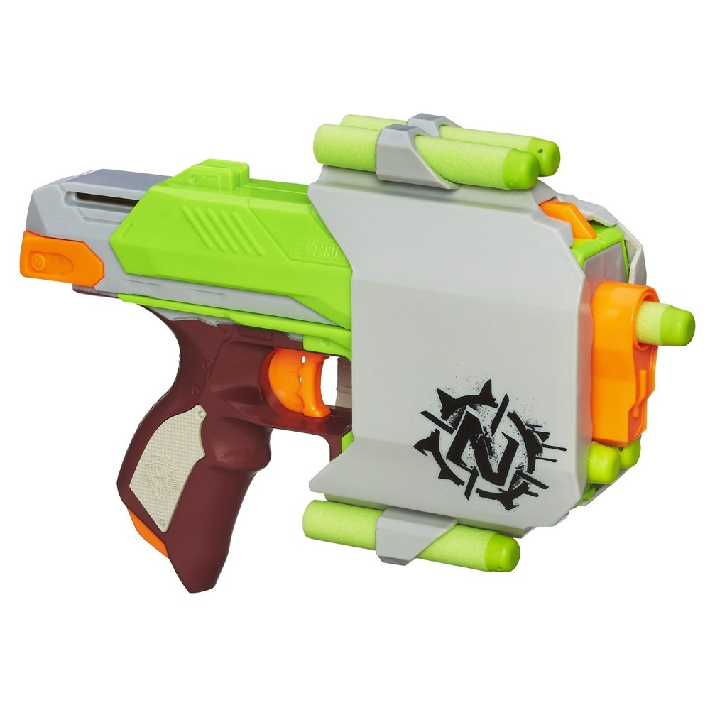 Nerf бластер зомби cтрайк zombie strike side strike blaster a6557 фото №1