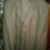 Pietro Fabri Москва стильный мужской пиджак в клетку 54-56р/188см