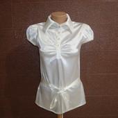 Продам шелковую блузу с коротким рукавом Party 21, Турция