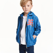 Куртка ветровка на флисовой подкладке от H&M из Германии
