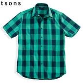 Рубашка короткий рукав Watsons размер 43-44, наш XL