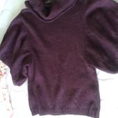 Интересный свитерок Итальянский цвет марсала