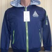 Куртка ветровка двусторонняя для мальчиков 134-152 Венгрия