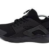 Кроссовки Nike нuarache 113 черные (реплика)