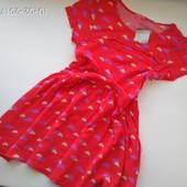 Легенькое яркое платье I Love Next 7-8 лет