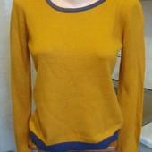 кофта свитер оранжево-серая Pimkie Размер М 40%акрил, 30%вискоза, 30%полиэстер