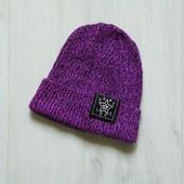Яркая шапка для девочки. Можно на взрослого. H&M. Размер 8-12 лет. Состояние: идеальное