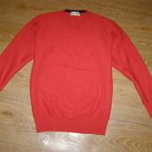 Della Ciana мужской свитер 100% мериносовая шерсть.Оригинал. Италия