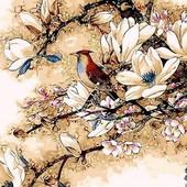 Картина по номерам Mariposa Королек птичка певчая Q-418