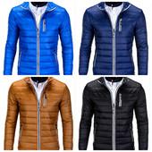 Мужская синяя,черная,голубая,коричневая куртка на весну