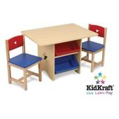 KidKraft Детский стол со стульями Звезда star table and 2 chair set 26912