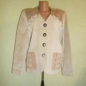 Куртка-Пиджак 100% Замша