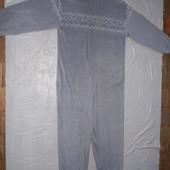 р. S-M на рост 164-170, флисовый слип пижама человечек Impuls взрослый