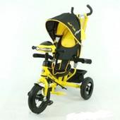Best Trike 6588B с фарой, надувное колесо Детский трехколесный велосипед