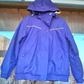 Демисезонная спортивная куртка для девочки 10 лет ( 140 -146)