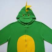 размер M, Флисовый взрослый человечек-пижама-костюм Дракон Cedar Wood State, б/у.