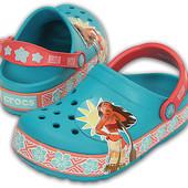 Crocs кроксы оригинал CrocsLights Moana Clog мигающие кроксы