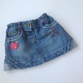 джинсовая юбка Некст с яблочком