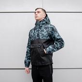 Мужская Куртка Анорак fight camo - Размер xs. s. m. l. xl. xxl.