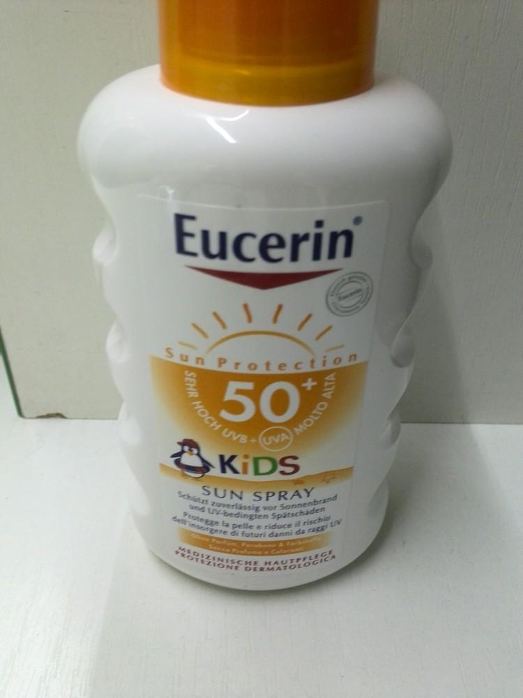 Eucerin 63853 Спрей детский для безопасного загара 200мл (SPF-50)(Эуцерин) фото №1
