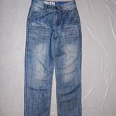 р. 128-134, модные джинсы Rebel для мальчика