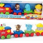 Цирковой экспресс, игровой набор Keenway K31034 , поезд, железная дорога, животные, музыка, гудок