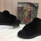 Женские Демисезонные ботинки слипоны