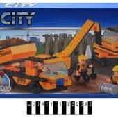 Конструктор CITY Будівельний майданчик 172 дет. 82005