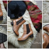 Шикарные высокие ботинки-челси, р-р 41