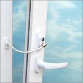 Защита на окна, защитный трос