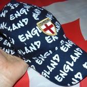 Фирменная стильная спортивная кепка England.56-58