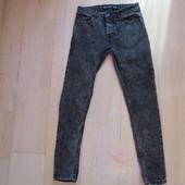 джинсы скини Denim W28/ L30 на подростка состояние новых