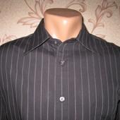 Рубашка мужская! Размер L, 65/35. Smart. Состояние нового!