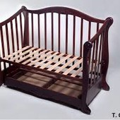 децкий кроватка маятник