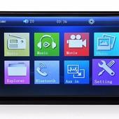Автомагнитола 7010B 2Din автомобильный DVD видео плеер сенсорный экран