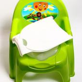 Горшок стульчик с крышкой