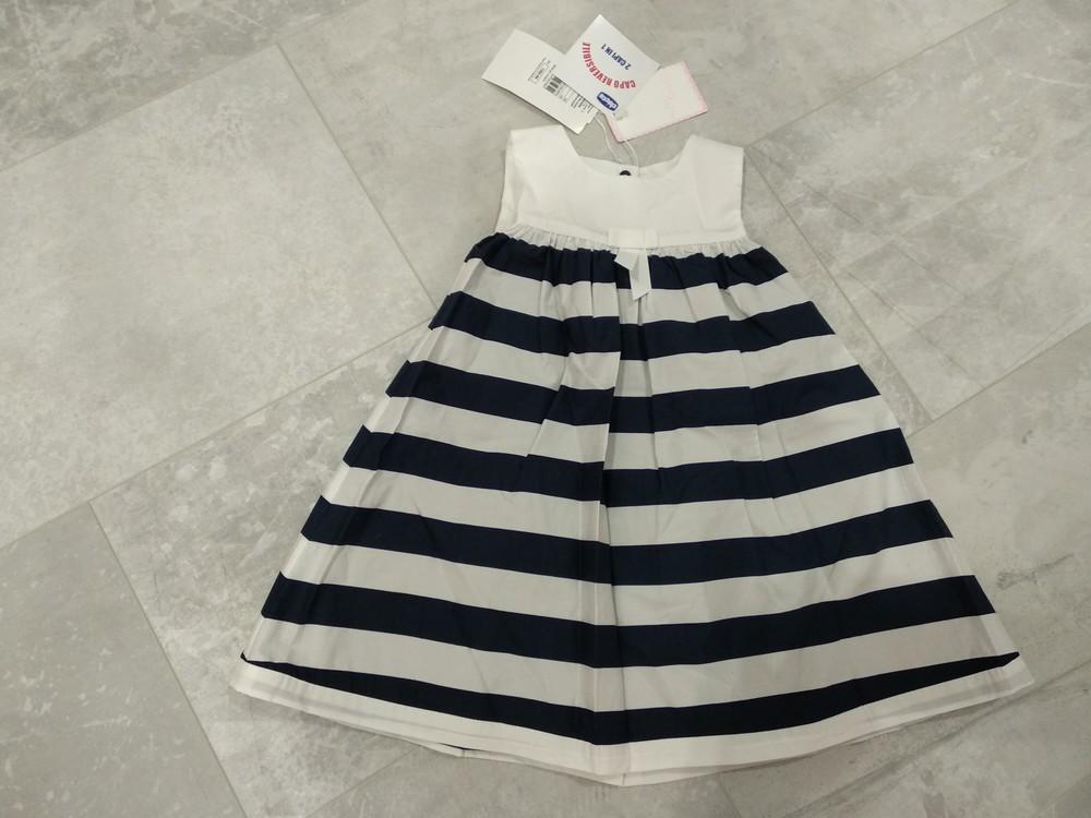 Платье Chicco   двухстороннее размер 92  фото №1