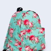 Молодежный рюкзак для девочек и девушек Мятные розы