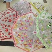 Зонт детский bt-cu-0013 5видов 50см зонтик