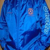Спортивная фирменная футбольная курточка ветровка  Lotto Ф.к Брістоль .хл-2хл .