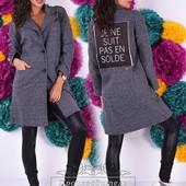 Женское пальто шерсть 42-54