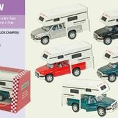 Модель джип 14см Dodge Ram Truck Camper kt5503w Kinsmart кинсмарт