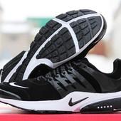 Кроссовки Nike Air Presto чорні з білим