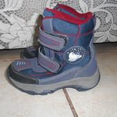 Зимние ботинки в хорошем состоянии, стелька - 16,5см.