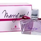 Собираем миллилитры парфюмерной воды Lanvin Marry Me