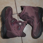 Демисезонные утепленные ботинки в хорошем состоянии, стелька - 20-20,5см.